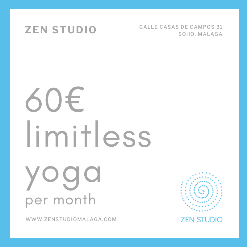 60€ limitless yoga