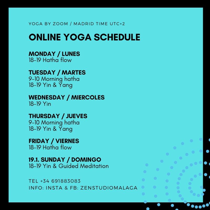 Online Yogas