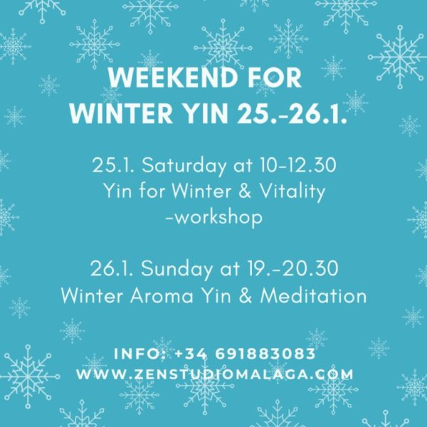 Weekend for winter yin